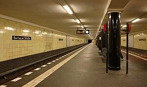 Bernauer Straße (Berlin U-Bahn) - Station Bernauer Straße