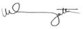 Uhuru Kenyatta signature.png