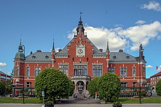 Umeå Town Hall - The town hall photographed from Ume River.