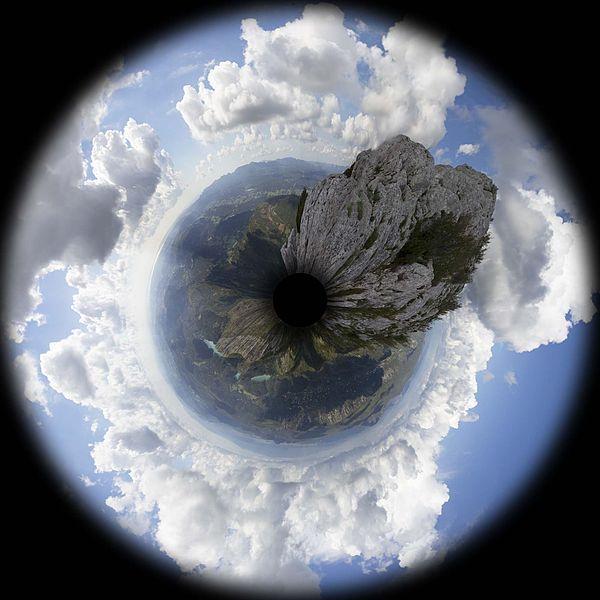 Panorama à 360° de la croix de Provence