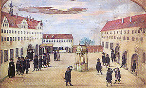 Wittenberg - University of Wittenberg in 1644