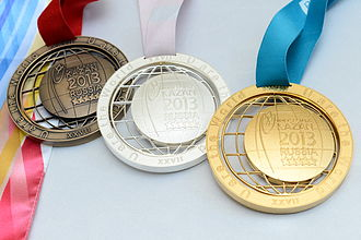 2013 Summer Universiade - Medals