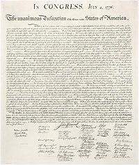 självständighetsförklaringen