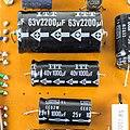 Universum Altarus 3000 - power supply unit - capacitors ITT 2200µF, ITT 1000µF, Nippon Chemi-Con 1000µF-6488.jpg