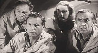 Victor Kilian - From Unknown World (1951), L-R: Otto Waldis, Bruce Kellogg, Marilyn Nash and Victor Kilian