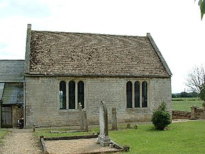 Upton, Cambridgeshire - Image: Upton Church near Peterborough geograph.org.uk 116234