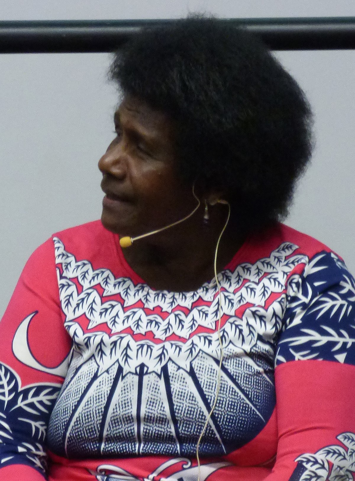 Ursula Rakova speaks in Adelaide in 2018