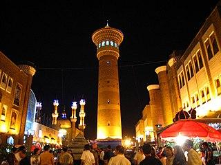 Ürümqi Prefecture-level city in Xinjiang, Peoples Republic of China
