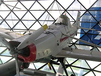 Utva-65 - Utva-65-S in the aviation museum in Belgrade