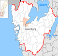 Vänersborg Municipality in Västra Götaland County.png
