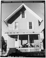 VIEW NORTH, SOUTH FRONT - 8 Dickinson Street (House), Binghamton, Broome County, NY HABS NY,4-BING,15-1.tif