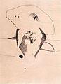Vajda Lajos - Óriásfej sok ceruzarajzzal 1939.jpg