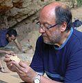 Valentín Villaverde, director de las excavaciones arqueológicas de la Cova Negra.jpg