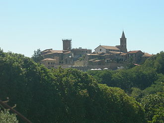 Valentano - View of Valentano.