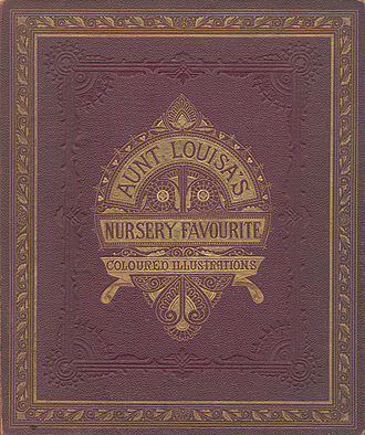 Aunt Louisa's Nursery Favourite - Book cover