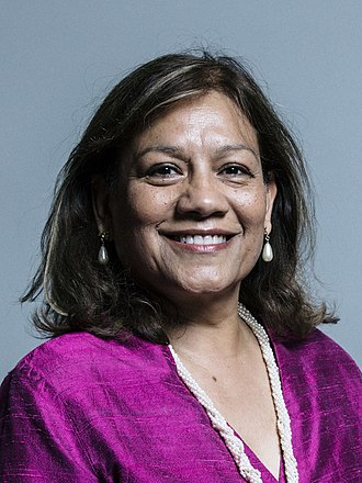Shadow Leader of the House of Commons - Image: Valerie Vaz MP official photo 2017