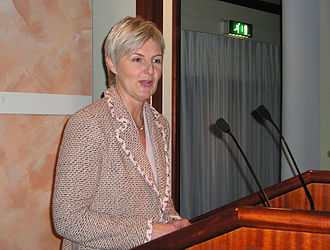 Minister of Children and Family Affairs - Image: Valgerd Svarstad Haugland 2