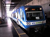 Tren del Metro Valparaíso