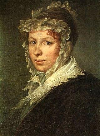 Портрет жены Анны. 1809