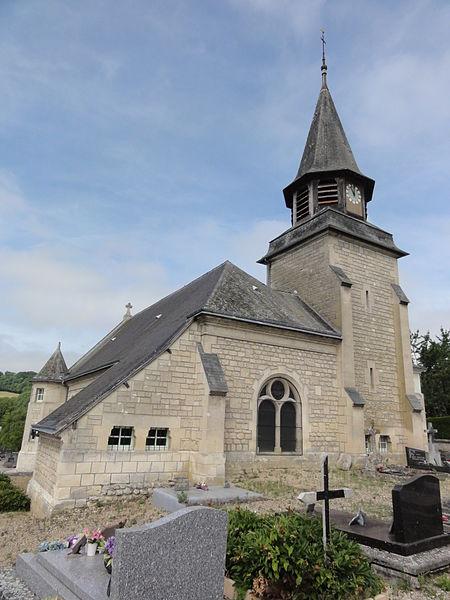 Vassogne (Aisne) église