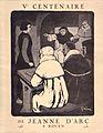 Ve Centenaire de Jeanne d'Arc, Rouen, 1931.jpg