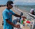 Vendedor de Rompecolchon en Isla de San Carlos, Estado Zulia.jpg