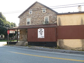 Upper Milford Township, Lehigh County, Pennsylvania - Vera Cruz Tavern, built 1738