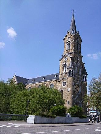 Verviers - Image: Verviers, kerk 1 foto 2 2009 04 30 13.42