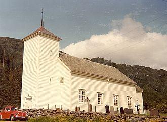 Naustdal - Vevring Church