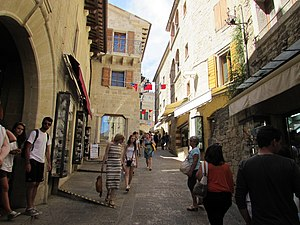 Via Basilicus din San Marino2
