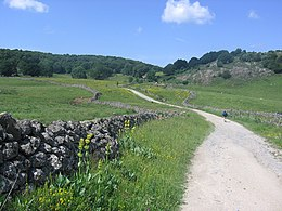 Via Podiensis, mountain road in Aubrac.jpg