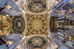 Plafond de la cathédrale de Viborg (Danemark). (définition réelle 5998×3973)