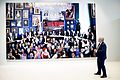 Vice-president Hoge Raad Jacques Overgaauw voor het schilderij Hoge Raad van Helen Verhoeven.jpg