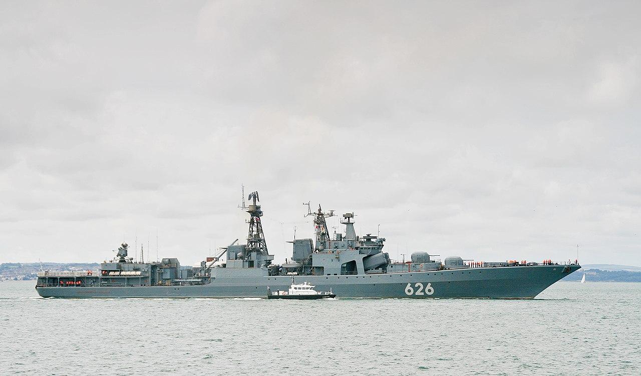 Вице-адмирал Кулаков 2012.