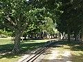 Victoria Esplanade playground and railway track.jpg