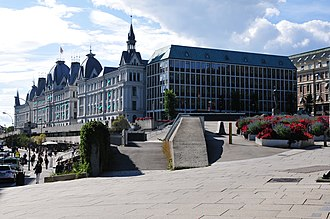 Ministry of Foreign Affairs (Norway) - The ministry occupies the historic Victoria Terrasse building in Oslo