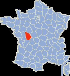 Communes of the Vienne department - Image: Vienne Position