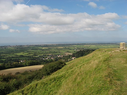 View from Brent Knoll. - panoramio