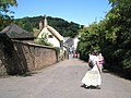 View from Dunster Castle down into the village - geograph.org.uk - 925678.jpg