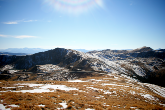 Mount Sniktau - The view from the Mount Sniktau trail of the Rocky Mountains and Loveland Pass