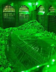 View from inside of Imam Reza sanctuary.jpg
