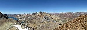 Ticlio - Image: View from the Summit Yuraccochas I Ticlio, Huarochiri, Lima, Peru