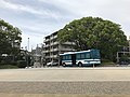 View near Ohori Police Box of Chuo Police Station.jpg