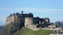 View of Edinburgh Castle (from the south east).jpg