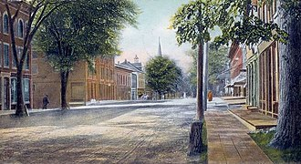 Thomaston, Maine - Image: View of Main Street, Thomaston, ME