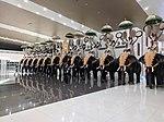 View of elephants inside Cochin International Airport.jpg