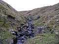 View up the gill that originates from Thorn Keld spring - geograph.org.uk - 643850.jpg