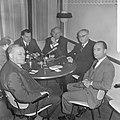 Vijf fractievoorzitters in Nieuwspoort gaven visie op Amerikaanse verkiezingen v, Bestanddeelnr 917-0923.jpg