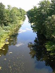 Klaipėdos kanalas prie Kiošių.Foto:Kusurija