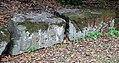 Villa giulia, giardini, blocchi con iscrizione monumentale.jpg